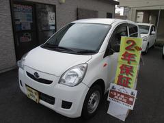 沖縄の中古車 ダイハツ ミラ 車両価格 16万円 リ済込 平成22年 5.5万K ホワイト