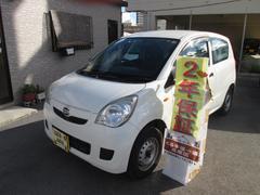 沖縄の中古車 ダイハツ ミラ 車両価格 18万円 リ済込 平成23年 6.2万K ホワイト