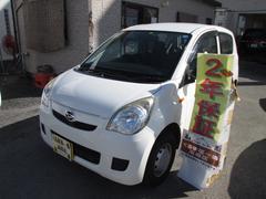 沖縄の中古車 ダイハツ ミラ 車両価格 18万円 リ済込 平成22年 8.0万K ホワイト