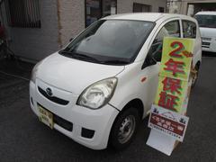 沖縄の中古車 ダイハツ ミラ 車両価格 19万円 リ済込 平成21年 6.6万K ホワイト