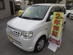沖縄の中古車 日産 オッティ 車両価格 19万円 リ済込 平成23年 8.3万K パール