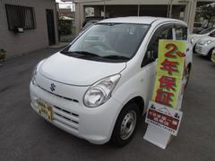 沖縄の中古車 スズキ アルト 車両価格 18万円 リ済込 平成22年 5.3万K ホワイト