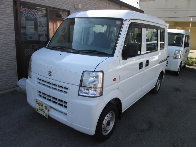 沖縄の中古車 スズキ エブリイ 車両価格 32万円 リ済込 2010(平成22)年 11.7万km ホワイト