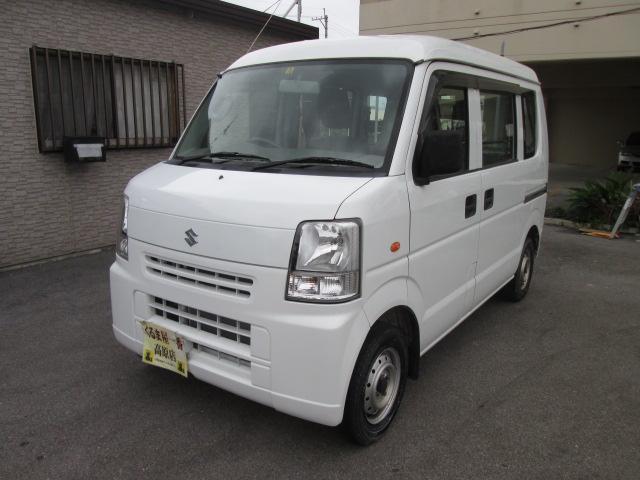 沖縄の中古車 スズキ エブリイ 車両価格 39万円 リ済込 2012(平成24)年 11.0万km ホワイト