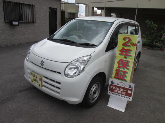 沖縄の中古車 スズキ アルト 車両価格 19万円 リ済込 2012(平成24)年 7.0万km ホワイト