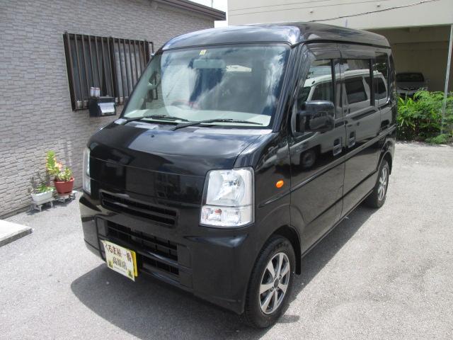 沖縄の中古車 スズキ エブリイ 車両価格 46万円 リ済込 2010(平成22)年 13.4万km ブラック