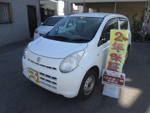 沖縄の中古車 スズキ アルト 車両価格 22万円 リ済込 2012(平成24)年 6.4万km ホワイト