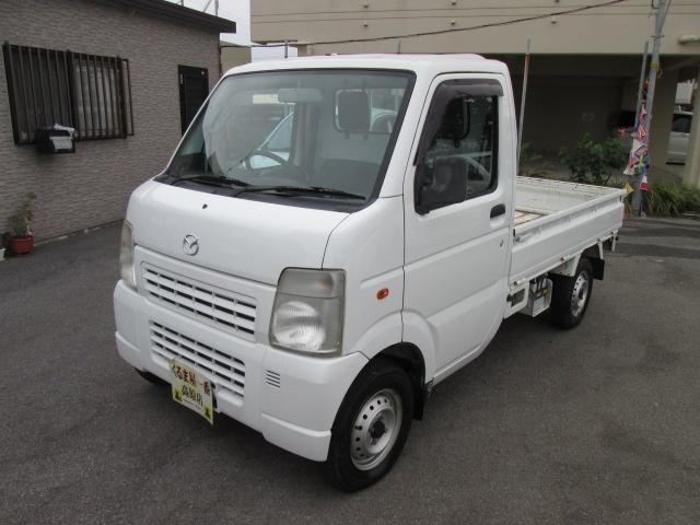 沖縄の中古車 マツダ スクラムトラック 車両価格 33万円 リ済込 2010(平成22)年 11.0万km ホワイト