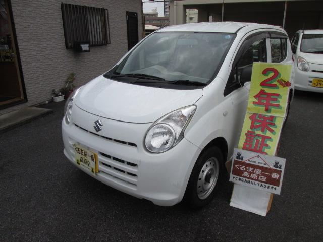 沖縄の中古車 スズキ アルト 車両価格 21万円 リ済込 2012(平成24)年 6.2万km ホワイト