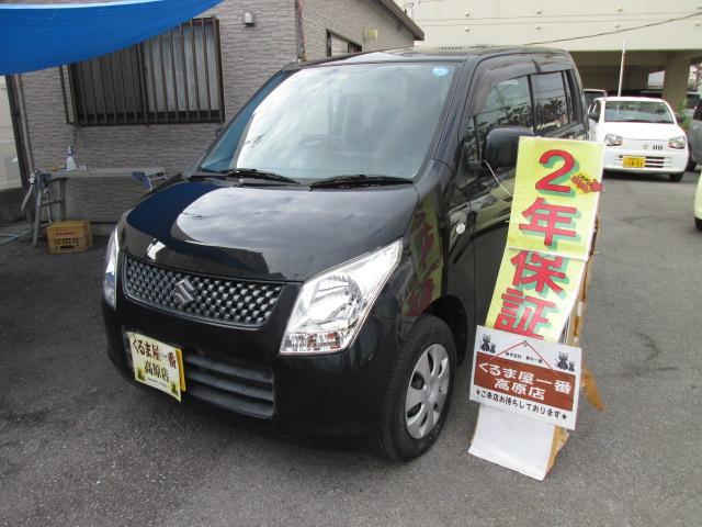 沖縄の中古車 スズキ ワゴンR 車両価格 32万円 リ済込 2011(平成23)年 6.5万km ブラック