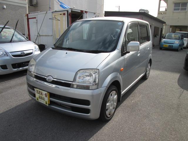 沖縄の中古車 ダイハツ ムーヴ 車両価格 22万円 リ済込 2006(平成18)年 7.3万km グレー