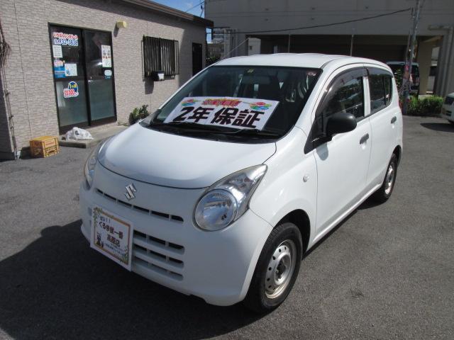 沖縄の中古車 スズキ アルト 車両価格 18万円 リ済込 2013(平成25)年 5.0万km ホワイト