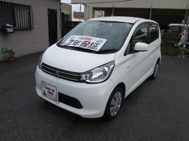沖縄の中古車 三菱 eKワゴン 車両価格 42万円 リ済込 2014(平成26)年 8.0万km ホワイト