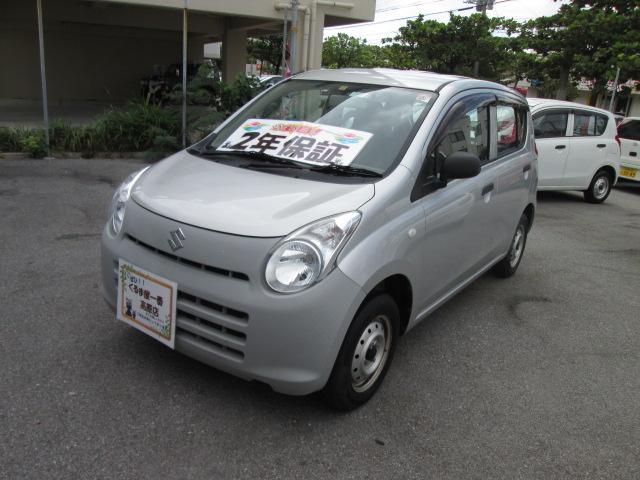 沖縄の中古車 スズキ アルト 車両価格 20万円 リ済込 2013(平成25)年 5.4万km グレー