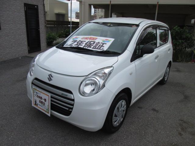 沖縄の中古車 スズキ アルトエコ 車両価格 32万円 リ済込 2014(平成26)年 6.6万km ホワイト