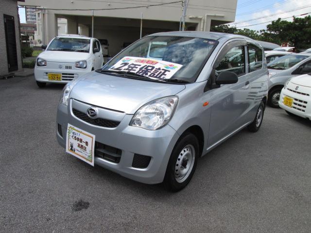 沖縄の中古車 ダイハツ ミラ 車両価格 23万円 リ済込 2013(平成25)年 4.1万km シルバー