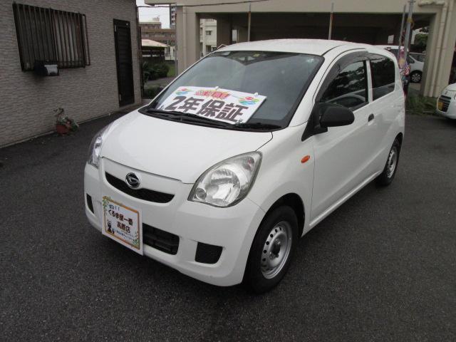 沖縄の中古車 ダイハツ ミラ 車両価格 19万円 リ済込 2013(平成25)年 5.7万km ホワイト