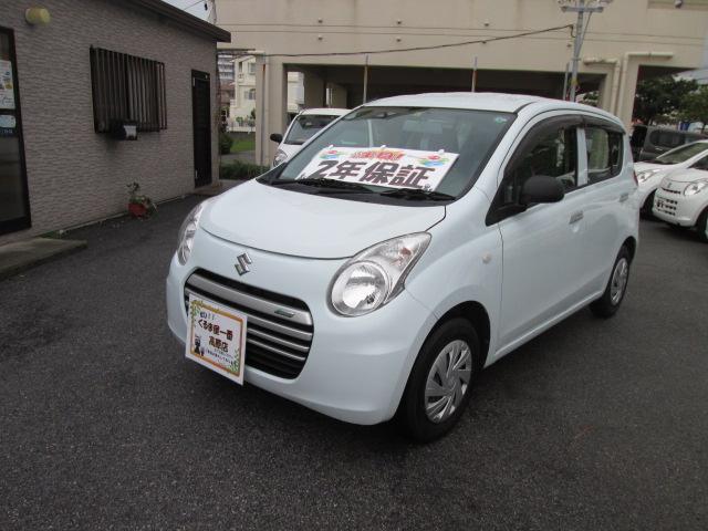 沖縄の中古車 スズキ アルトエコ 車両価格 34万円 リ済込 2014(平成26)年 5.5万km ホワイト