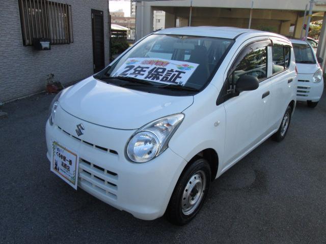 沖縄の中古車 スズキ アルト 車両価格 20万円 リ済込 2013(平成25)年 5.3万km ホワイト