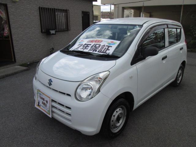 沖縄の中古車 スズキ アルト 車両価格 19万円 リ済込 2013(平成25)年 5.2万km ホワイト