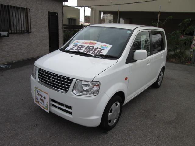 沖縄の中古車 三菱 eKワゴン 車両価格 32万円 リ済込 2013(平成25)年 5.6万km ホワイト