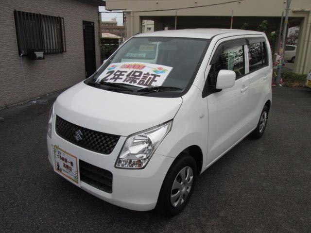 沖縄の中古車 スズキ ワゴンR 車両価格 39万円 リ済込 2012(平成24)年 6.6万km ホワイト