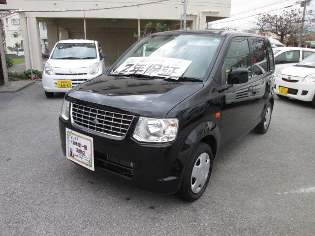 沖縄の中古車 三菱 eKワゴン 車両価格 32万円 リ済込 2012(平成24)年 6.0万km ブラック
