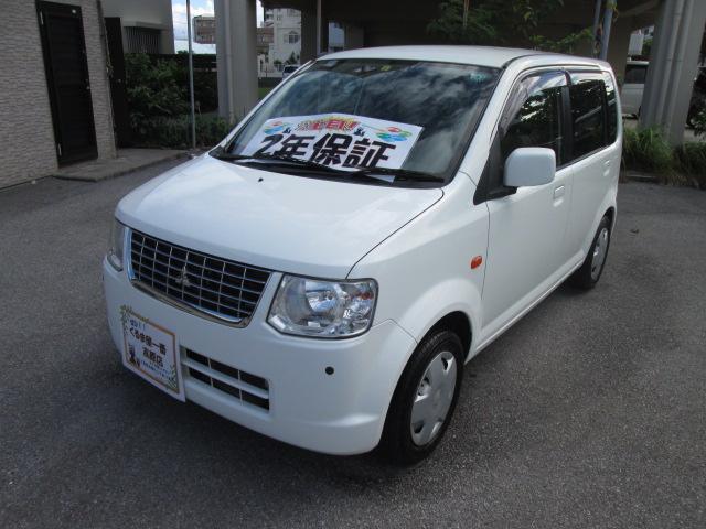 沖縄の中古車 三菱 eKワゴン 車両価格 27万円 リ済込 2012(平成24)年 7.6万km ホワイト