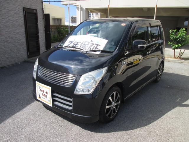 沖縄の中古車 スズキ ワゴンR 車両価格 43万円 リ済込 2012(平成24)年 8.4万km ブラック
