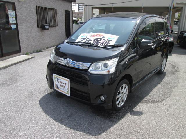 沖縄の中古車 ダイハツ ムーヴ 車両価格 43万円 リ済込 2012(平成24)年 9.2万km ブラックM