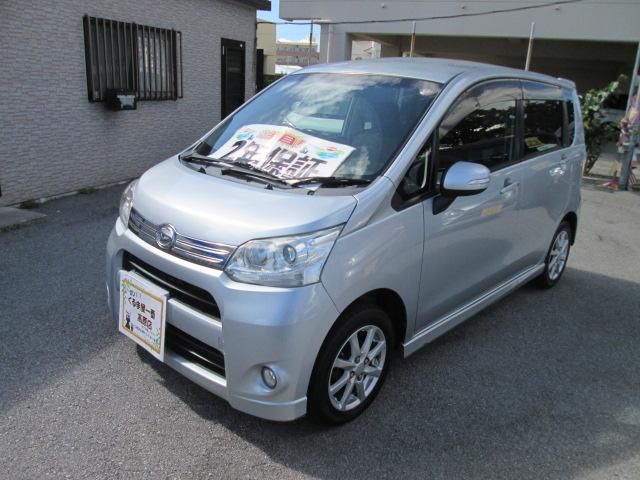 沖縄の中古車 ダイハツ ムーヴ 車両価格 43万円 リ済込 2012(平成24)年 9.4万km シルバー