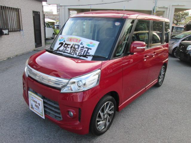 沖縄県の中古車ならスペーシアカスタム TS