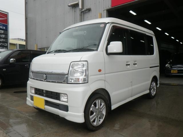 沖縄の中古車 スズキ エブリイワゴン 車両価格 75万円 リ済別 平成20年 13.6万km パール