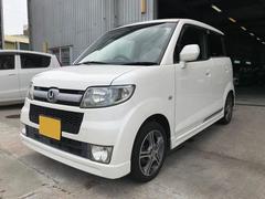 沖縄の中古車 ホンダ ゼスト 車両価格 28万円 リ済込 平成20年 12.8万K パール