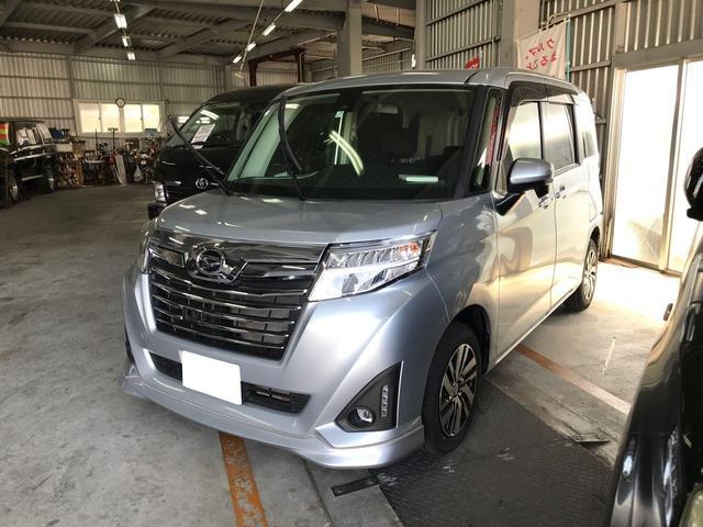 沖縄の中古車 ダイハツ トール 車両価格 ASK リ済込 平成29年 2.4万km シルバー