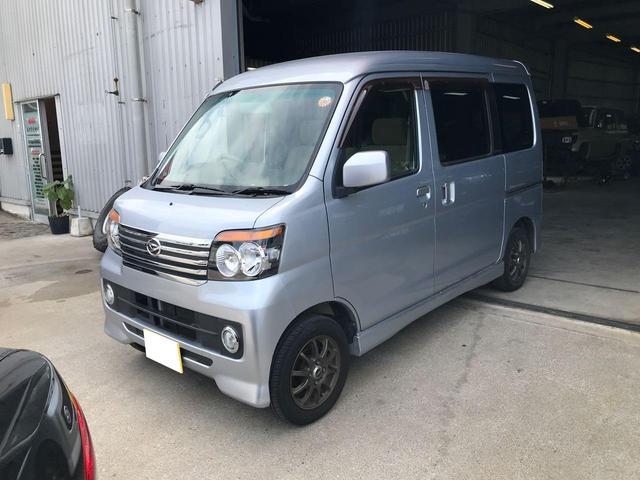 沖縄の中古車 ダイハツ アトレーワゴン 車両価格 ASK リ済込 平成20年 14.9万km シルバー