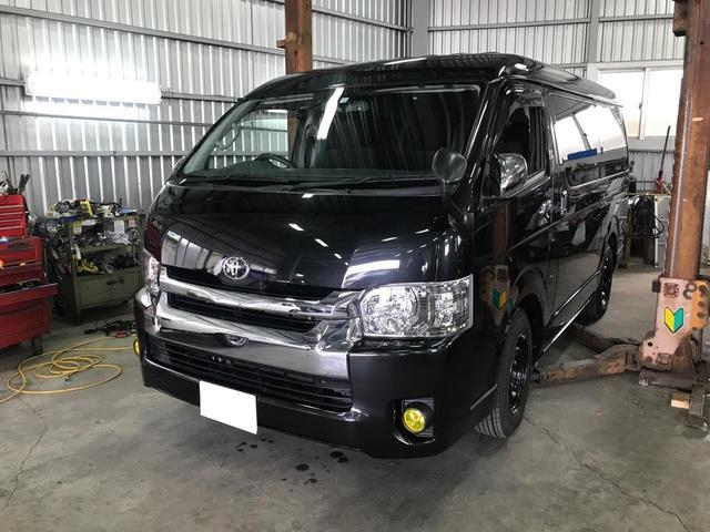 沖縄の中古車 トヨタ レジアスエースバン 車両価格 ASK リ済込 2014(平成26)年 7.5万km ブラック