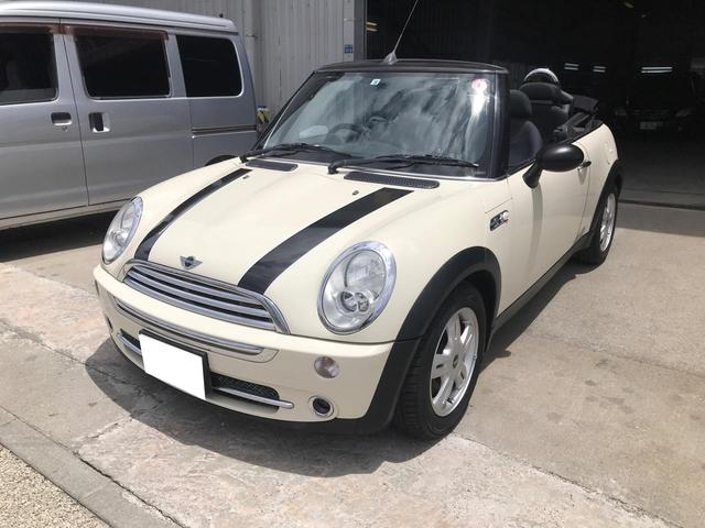 沖縄県の中古車ならMINI クーパー コンバーチブル 純正アルミ CD
