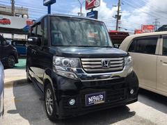 沖縄の中古車 ホンダ N BOXカスタム 車両価格 70万円 リ済込 平成25年 12.1万K ブラックM
