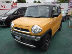 沖縄の中古車 スズキ ハスラー 車両価格 111万円 リ済込 平成29年 0.7万K イエローII