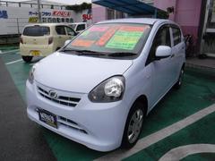 沖縄の中古車 ダイハツ ミライース 車両価格 50万円 リ済込 平成25年 6.1万K スカイブルー