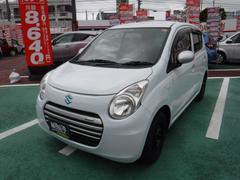 沖縄の中古車 スズキ アルトエコ 車両価格 50万円 リ済込 平成25年 8.1万K リーフホワイト