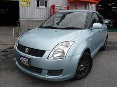 沖縄の中古車 スズキ スイフト 車両価格 30万円 リ済込 平成20年 8.5万K ノクターンブルーパール