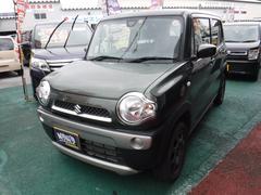 沖縄の中古車 スズキ ハスラー 車両価格 114万円 リ済込 平成29年 0.8万K カーキ