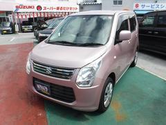 沖縄の中古車 スズキ ワゴンR 車両価格 60万円 リ済込 平成25年 5.0万K ピンクM