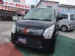 沖縄の中古車 スズキ ワゴンR 車両価格 49万円 リ済込 平成25年 10.3万K ブラック