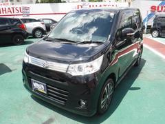 沖縄の中古車 スズキ ワゴンRスティングレー 車両価格 74万円 リ済込 平成25年 6.7万K ブラック