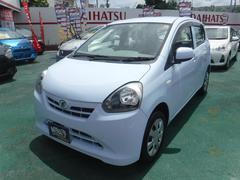 沖縄の中古車 ダイハツ ミライース 車両価格 47万円 リ済込 平成25年 6.7万K ライトブルー