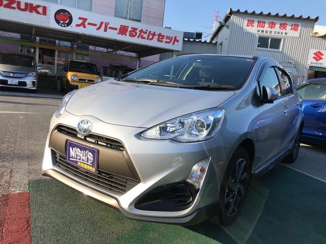 沖縄県の中古車ならアクア X-アーバン