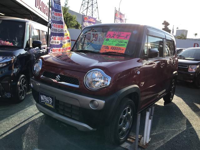 沖縄県の中古車ならハスラー G レーダーブレーキサポート装着車